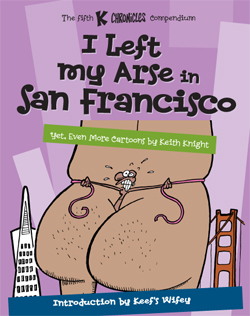 I Left My Arse in San Francisco cover
